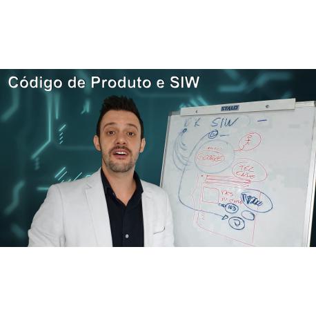 Código de Produto e SIW