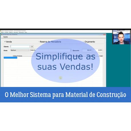Venda Para Material de Construção Simplificada